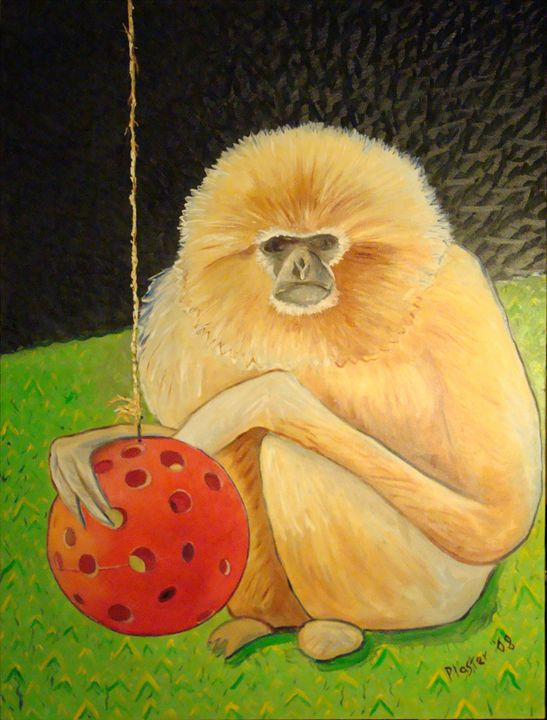 Psychic Monkey - Whimsical Artist Scott Plaster