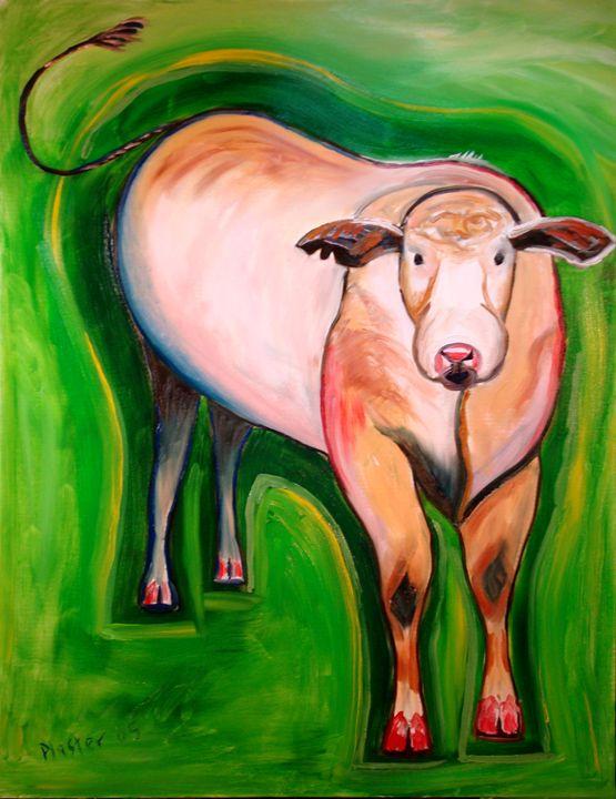Cosmic Cow - Whimsical Artist Scott Plaster