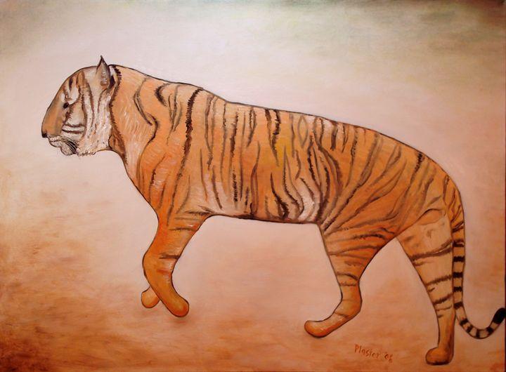 Mystic Tiger - Whimsical Artist Scott Plaster