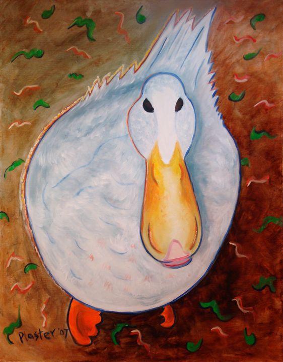 Neon Duck - Whimsical Artist Scott Plaster