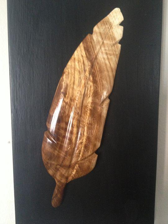 Feather Vignette - Dscarving