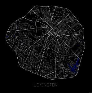S1_City Maps_Lexington - Doss Designs