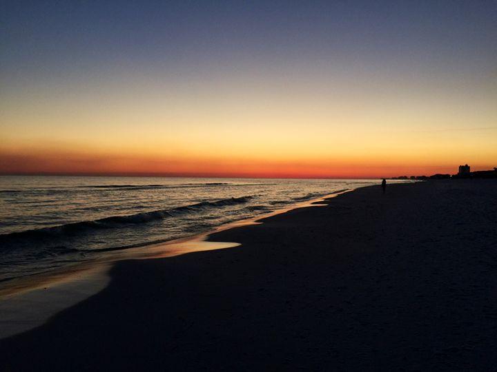 Ocean Sunset - Melissa Howell