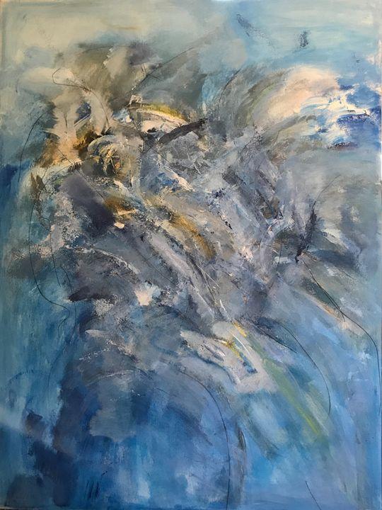 Blue movement - EAShorey art studio