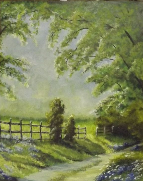 Country Path - Rustic Heart