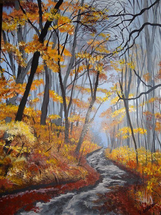 Autumn Dream - Rustic Heart