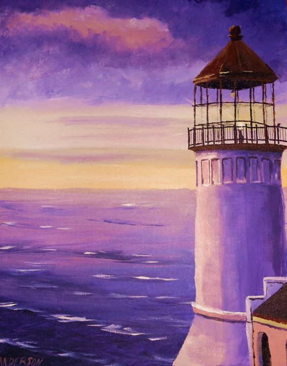 The Lighthouse - Rustic Heart