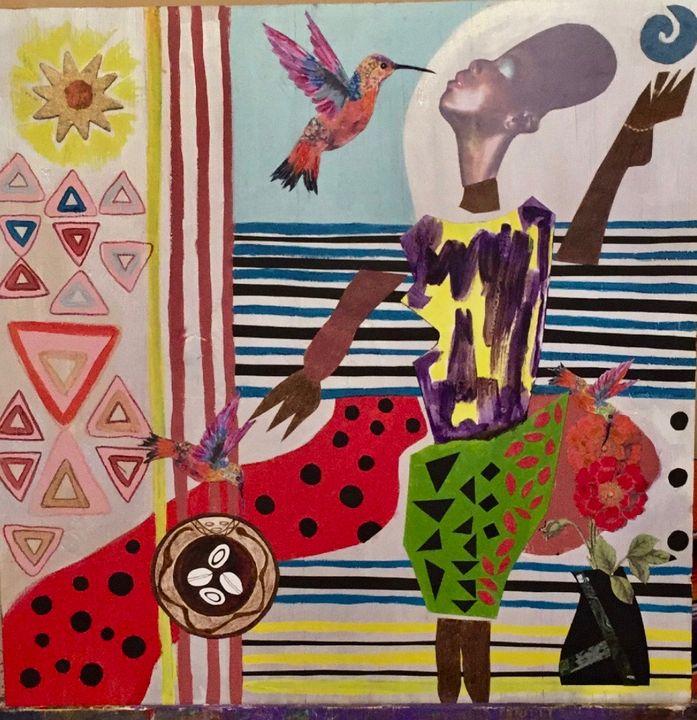 Love in Ejife - Conjure Collage Art & Design