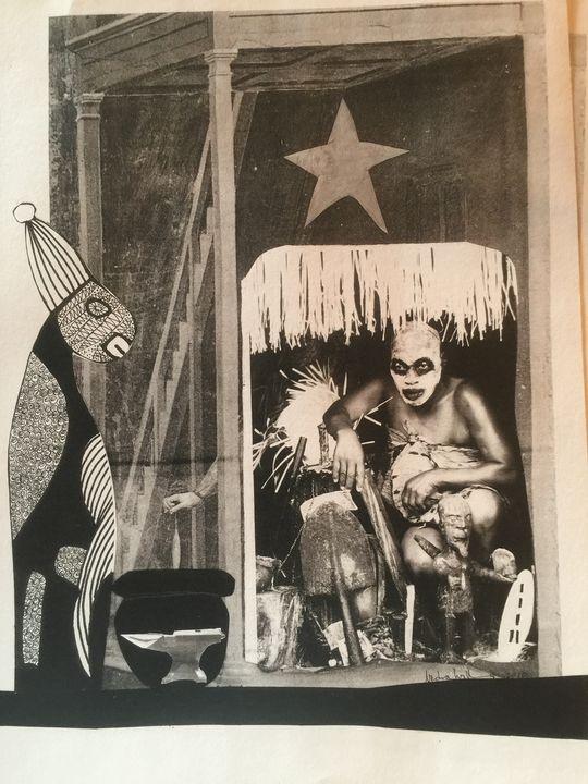 Ogunda - Conjure Collage Art & Design