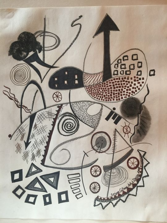 Kundalini Medley - Conjure Collage Art & Design