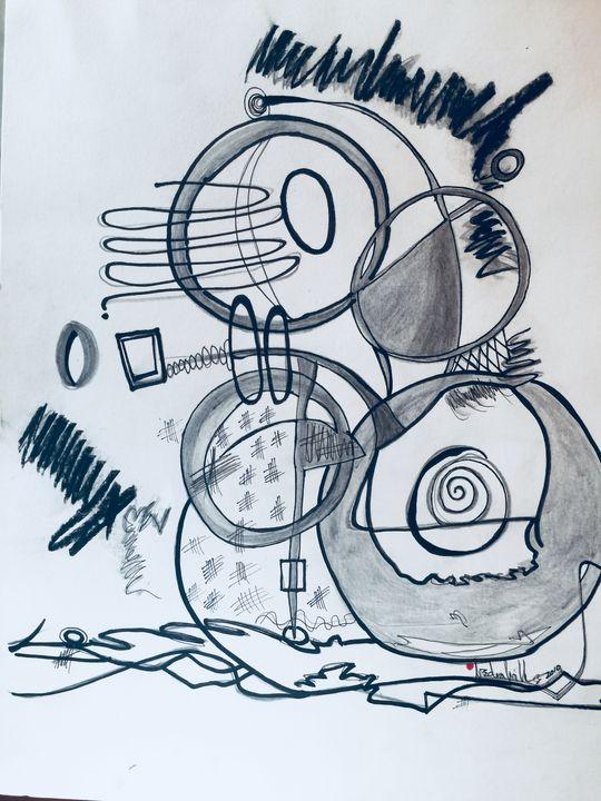 Circular Logic - Conjure Collage Art & Design