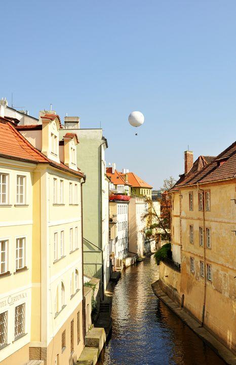 Prague canals - ArtTochka