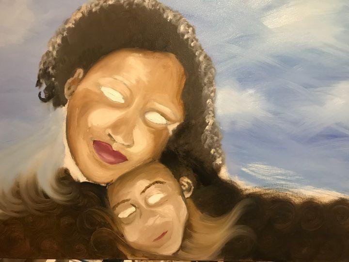 Mother bond abstract - Manda Lee