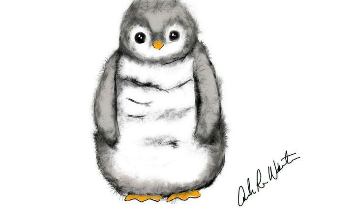 Penguin cuddles - Manda Lee