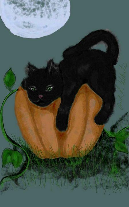 Too tired for Halloween - Manda Lee
