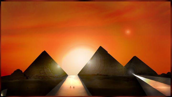 Pyramids and Venus (Dream part I) - M. Gallard