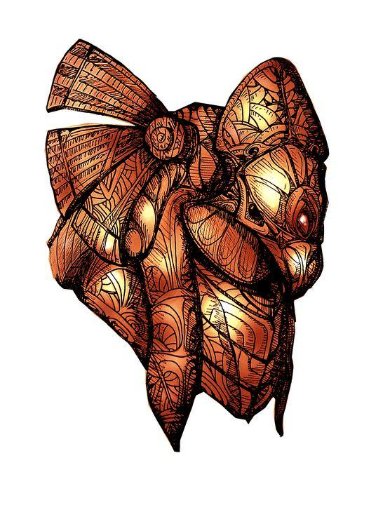 Horus Helm (SG) Copper - M. Gallard