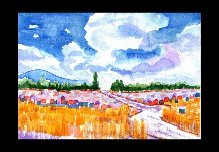 Wheat Earth Rain - Ali Akbar Nazari