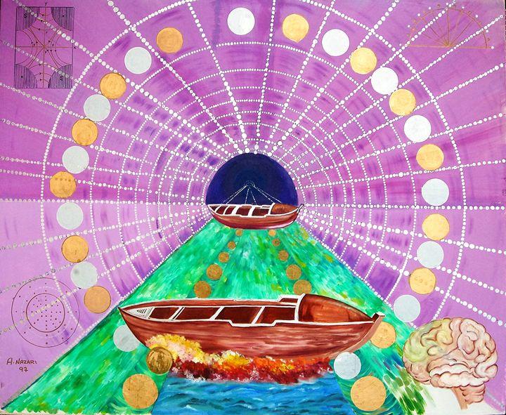 Spider inspired by sura Ankaboot - Ali Akbar Nazari