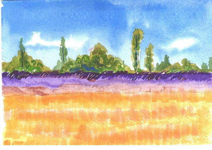 Daye Susan Wheat Farm - Ali Akbar Nazari