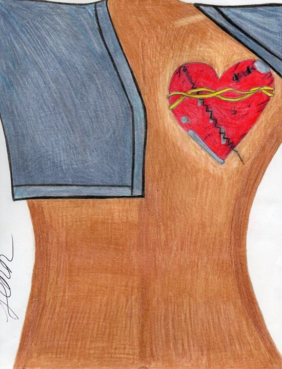 Healed and Recovered Woman's Heart - Genesis Vergara Flores