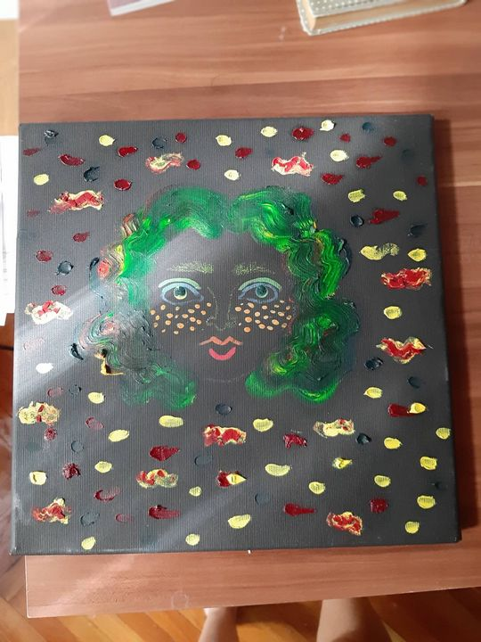green girl - Brigittas Art G