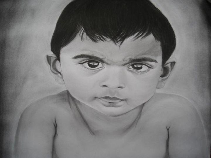 boy - pencil art