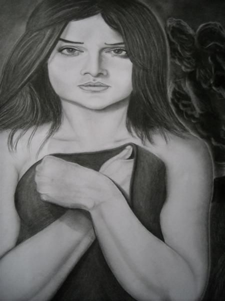 girl - pencil art