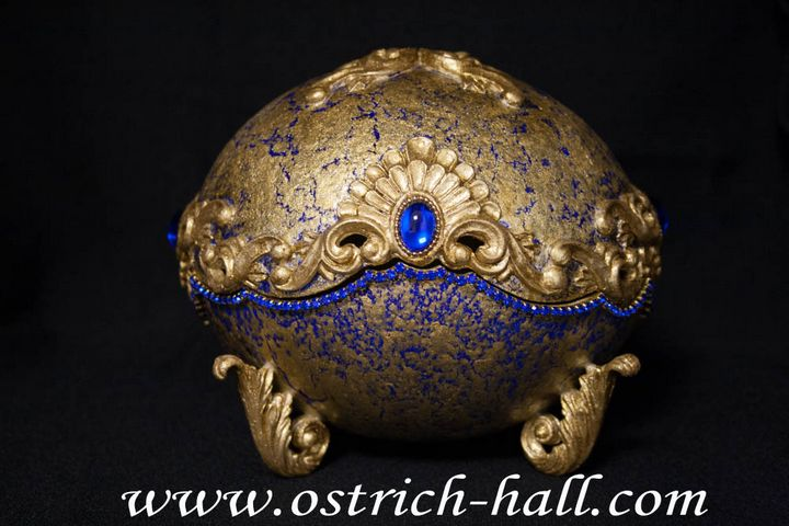 Ostrich Egg Jewelry Box - Ostrich Hall