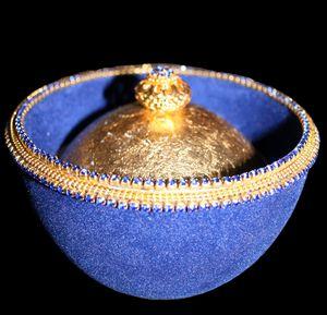 "Ostrich Egg Jewelry Box""Еmpress"" - Ostrich Hall"