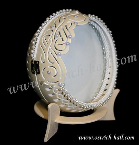 Ostrich Egg Picture frame - Ostrich Hall