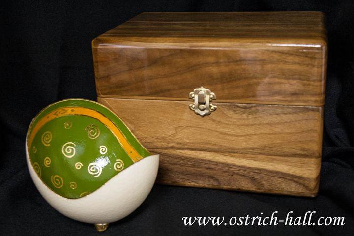 Ostrich Egg Candy Box - Ostrich Hall