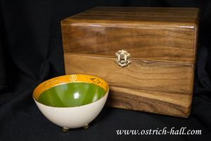 Ostrich Egg Candy Box