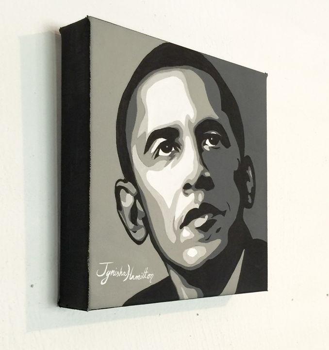 President Obama - Tynisha Hamilton