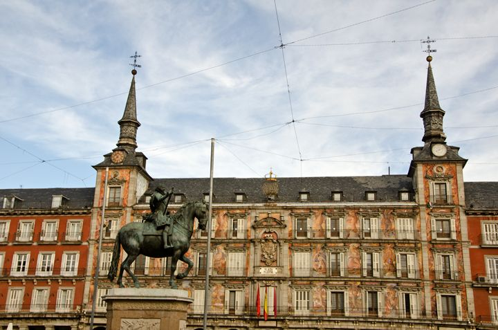 Main square, Madrid, Spain. - Norberto Lauria