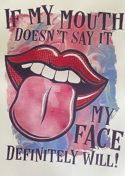 If my mouth !! - MissAng's Designs