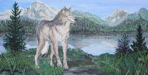 Blue Mountain Wolf