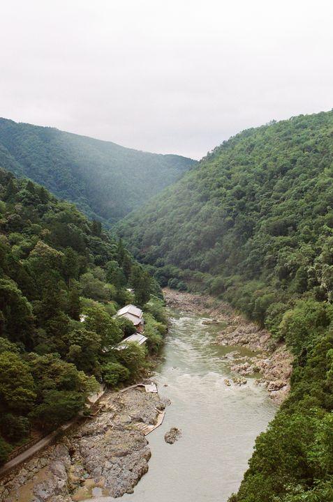 River in Arayshiyama - Wilson McDade