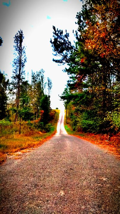 Falltime Backroad - God's Vision in My Work