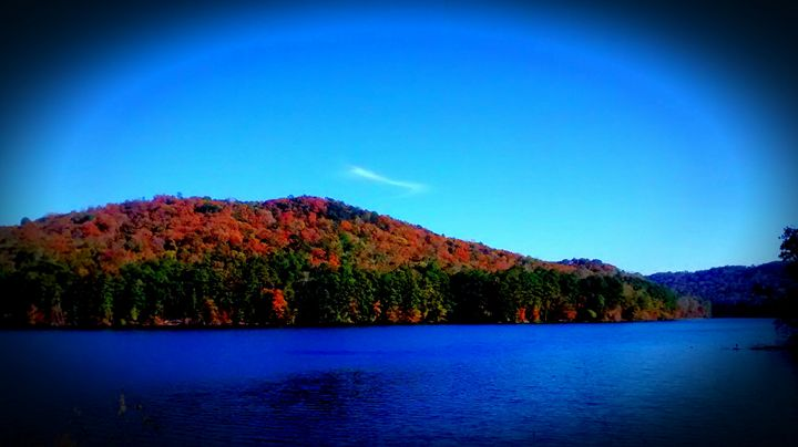 Lake in Fall Time - God's Vision in My Work