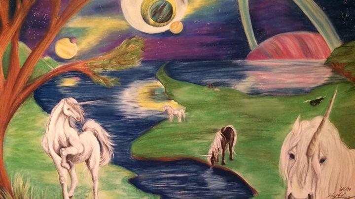 Unicorn Paradise - Miranda Lopez