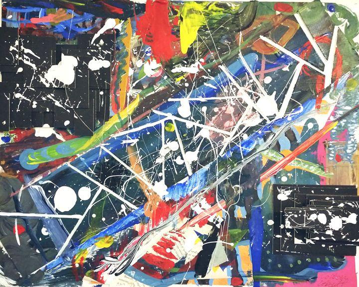 A Splash Of Geometric Color - Colton LeBouff