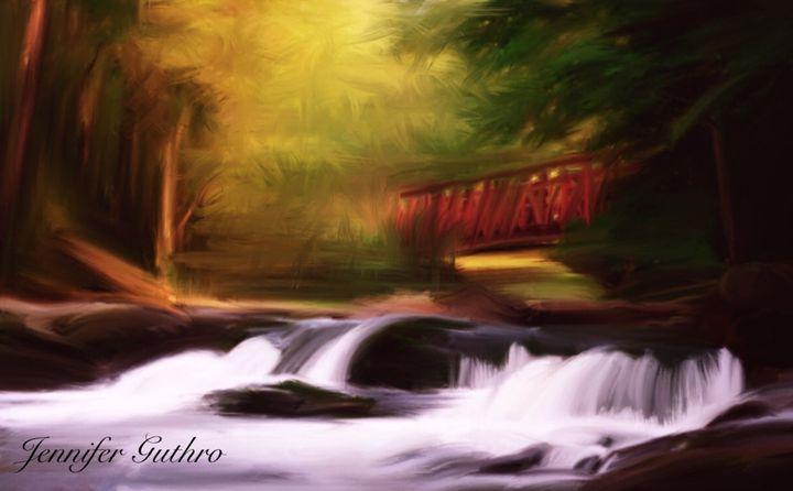Nature Falls - Jennifer Guthro