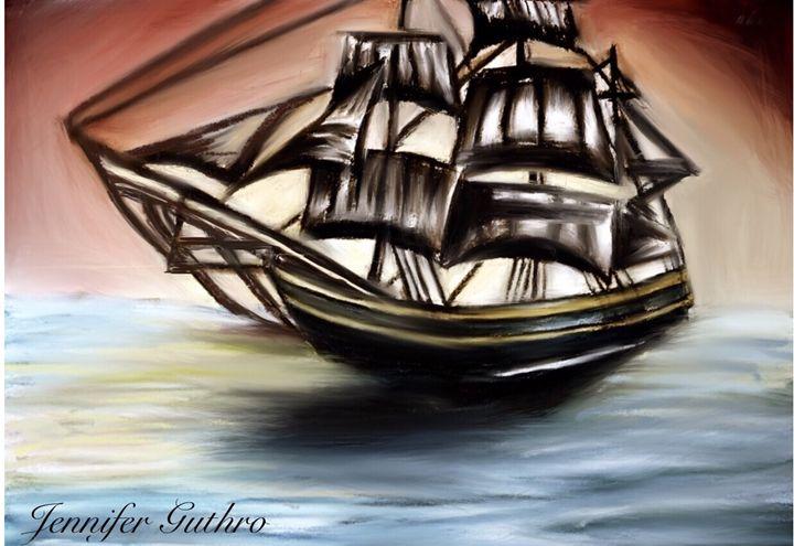 On the Sea - Jennifer Guthro