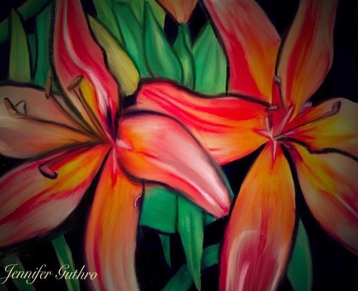 Lilies - Jennifer Guthro