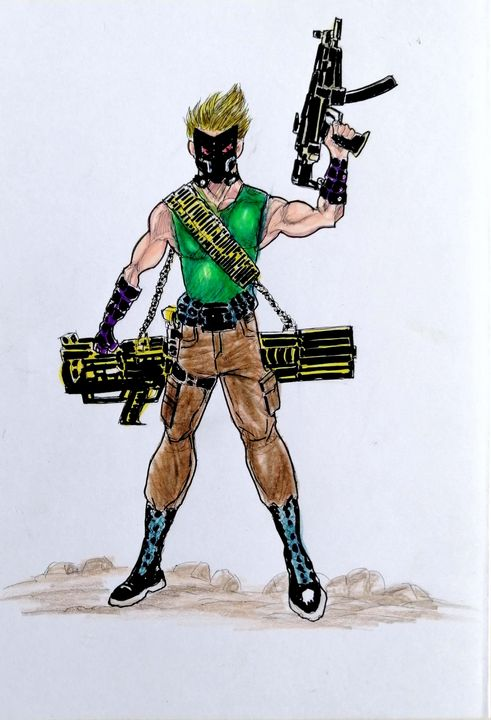 Squads - HANZALAH77 ART AMAL