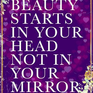 Beauty starts in your Head