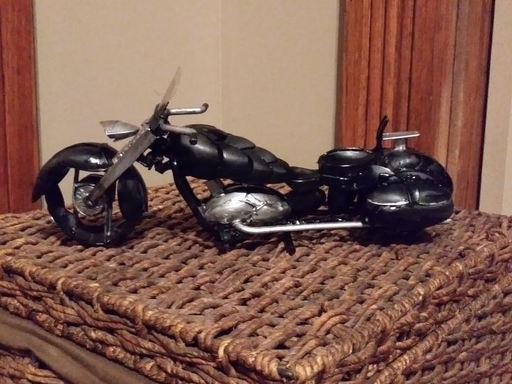Motorcycle - Rock's painting & sculpture gallery