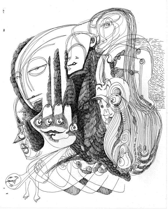PEACOCK   by   JEREMIAH KAUFFMAN - LYNN KAUFFMAN