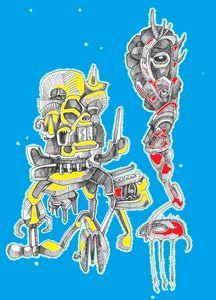 TWO ROBOTS by JEREMIAH KAUFFMAN